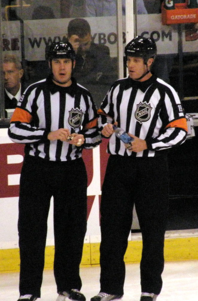 Referees have seen better days. (Flickr/Dan4th)