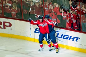Ovechkin and Backstrom - clydeorama, flickr