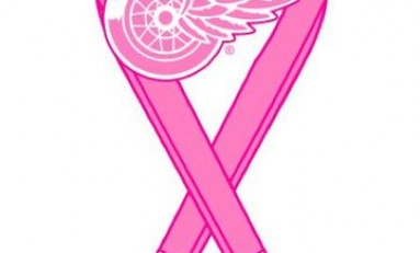 Red Wings' fight Breast Cancer