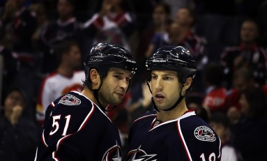 Blue Jackets Drop 5-3 Decision at Home Against Ducks
