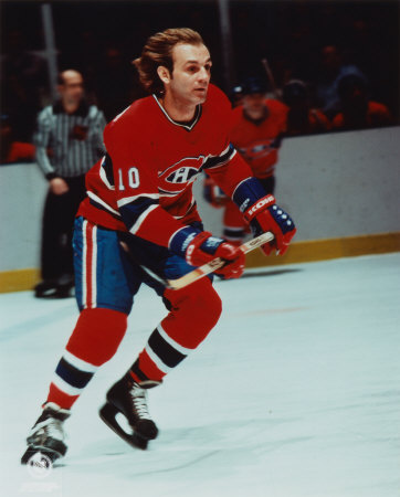 Guy Lafleur of the Montreal Canadiens.