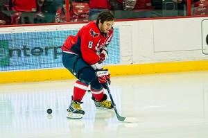 Ovechkin Warming Up