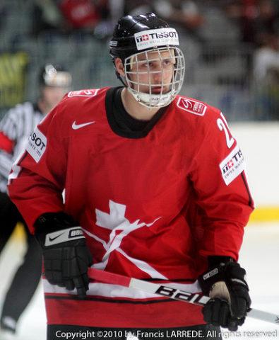 Team Switzerland's Nino Niederreiter played under Buffalo Sabres' head coach Ralph Krueger