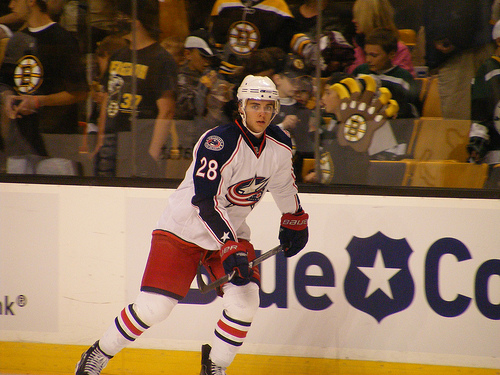 Nikita Filatov Columbus Blue Jackets 2008 NHL Draft pick