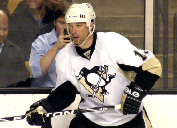 Bill Guerin of the Pittsburgh Penguins