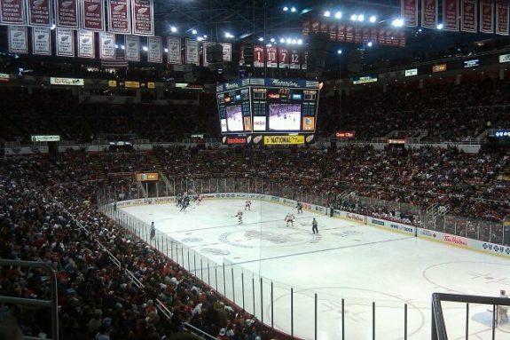 Joe Louis Arena Hockeytown
