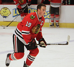Jonathon Toews - Photo by HockeyBroad - Flickr