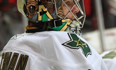 Richard Bachman Makes Case to be Stars No. 2 Goaltender