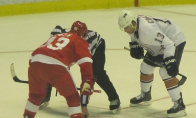 Bertuzzi and Helm Serve Up Crow in Edmonton