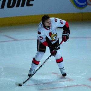 "Senators Erik Karlsson may have been the ""huh"" All-Star last season but now he leads the league in Assist (Tom Turk THW)"
