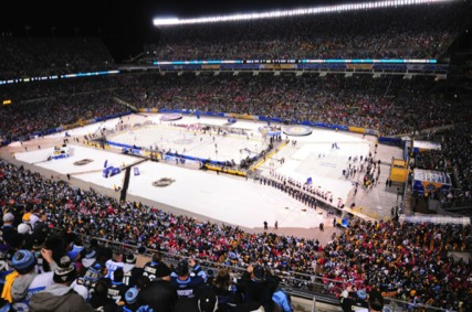 Winter Classic Crowd