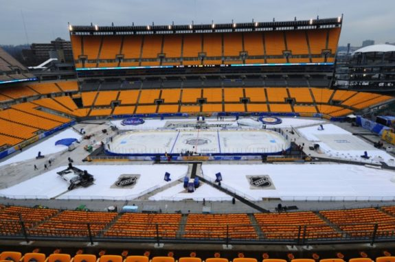 Heinz Field, Pittsburgh, Winter Classic.