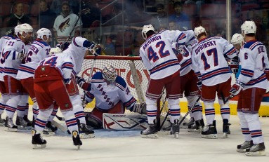 Rangers' Offensive Outburst Not So Strange