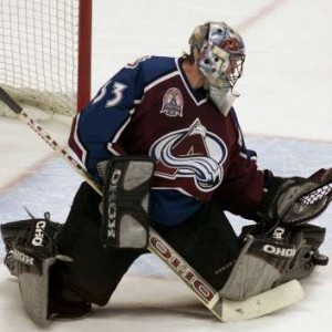 Patrick Roy is credited with popularizing the butterfly style (shocker30/Flickr)