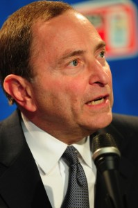 NHL Commissioner Gary Bettman (Tom Turk/THW)