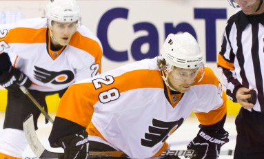Giroux, Top Flyers Forwards Playing Huge Minutes Early