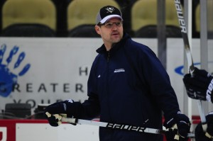 Dan Bylsma is looking for his first playoff series clinching victory at home.