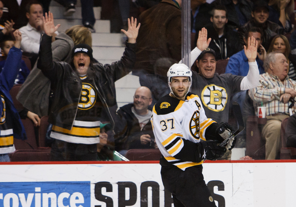 Patrice Bergeron was Boston's best player in the Eastern Conference quarterfinals.