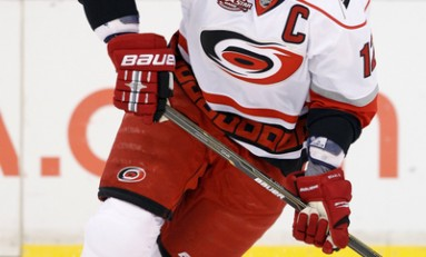 Eric Staal off to slow start