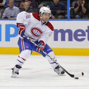 Montreal Canadiens forward David Desharnais