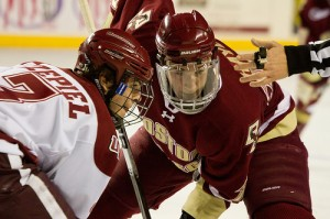 Jimmy Hayes at Boston College (Dennis Pause/Flickr)