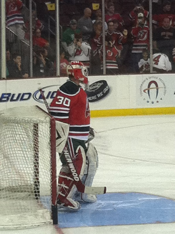 Martin Brodeur in Retro Gear