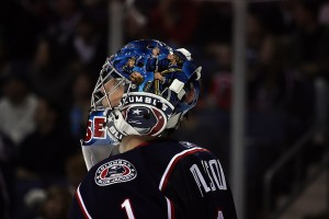 Columbus Blue Jackets goalie Steve Mason (Dave Gainer/THW)