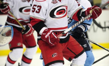 Hurricanes' Standout Skinner Earns Calder Nomination