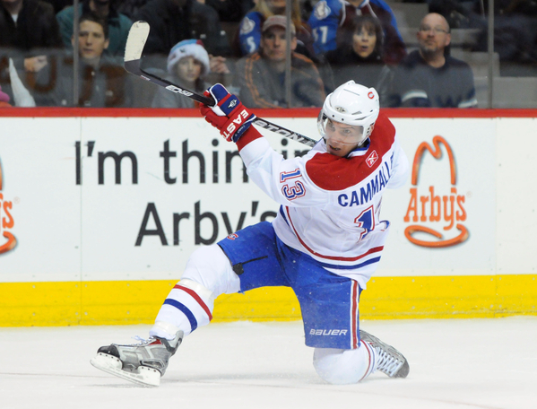 Mike Cammalleri Montreal Canadiens