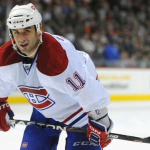 Former-Montreal Canadiens forward Scott Gomez