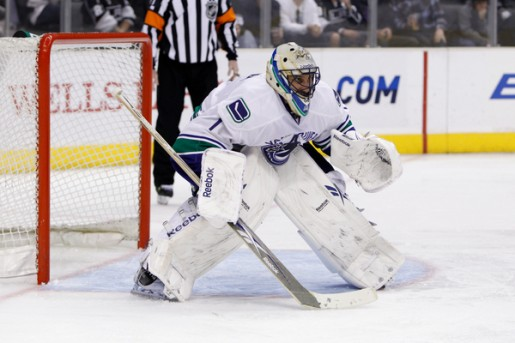 Roberto Luongo got the win against his friend on Tuesday  (File Photo/Flickr)