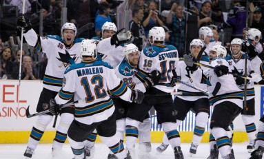 Sharks Storm Castle to Cause Kings' Collapse