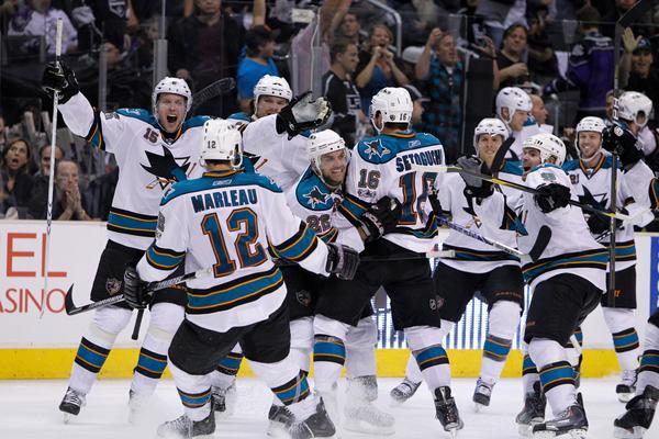 Sharks comeback vs Kings