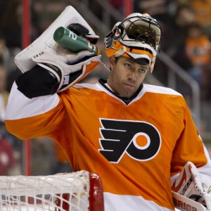 Brian Boucher needs to elevate his game if the Flyers are to beat the Bruins.