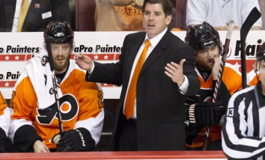 Peter Laviolette Isn't the Reason For Flyers' Woes