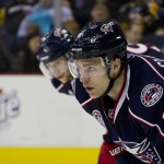 """Columbus Blue Jackets defenseman Grant """"Get Some"""" Clitsome has been a welcome addition this season (Aaron Doster/THW)"""