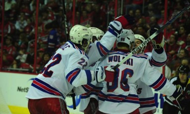 Rangers Take Advantage and Win Game 3 Over Capitals, Caps Lead Series 2-1