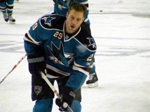 Ryan Clowe, San Jose Sharks