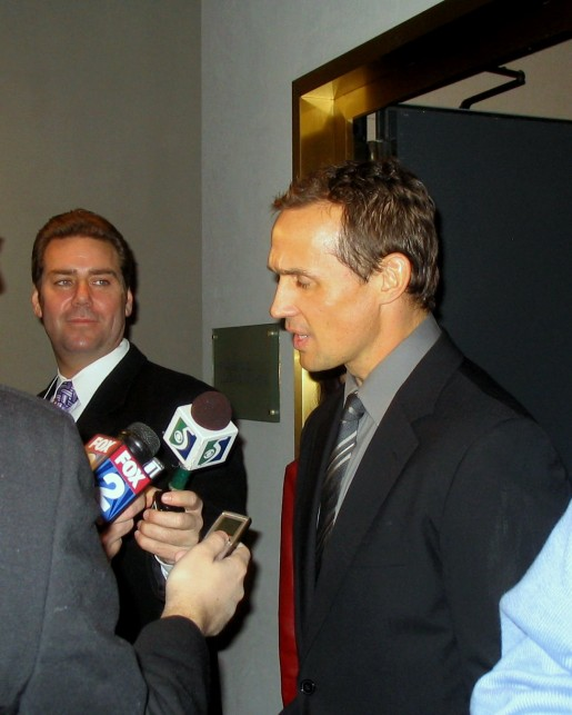 Steve Yzerman is hoping he built another gold medal winning team for Team Canada. (Wikipedia)
