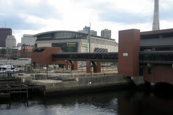 TD Garden, TD Banknorth Garden, Boston Bruins