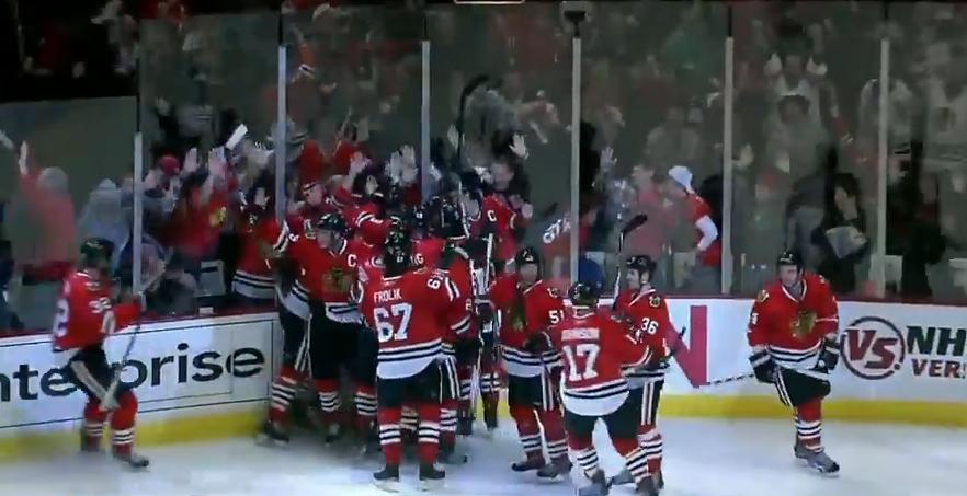 Blackhawks win
