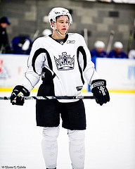 The Kings captain Brown looks to continue his strong leadership and physical play (Photo by Glenn Calvin).