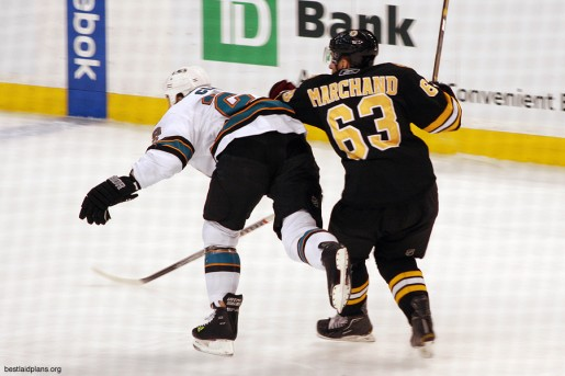 This time Marchand took the punishment and it will cost those who wanted him on DraftKings. Photo Credit: SlidingSideways/Flickr (CC)