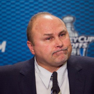 Barry Trotz was pleased with how the Caps responded to a bad outing. (Icon SMI)