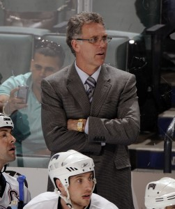 Craig MacTavish, seen here as coach of the Edmonton Oilers, was the last active NHLer to play without a helmet. (Icon SMI)