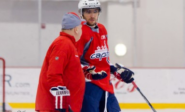 Caps Begin Season Preparations with Rookie Camp, Ovechkin Participates