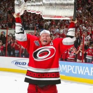 Ex-Carolina Hurricanes defenseman Glen Wesley