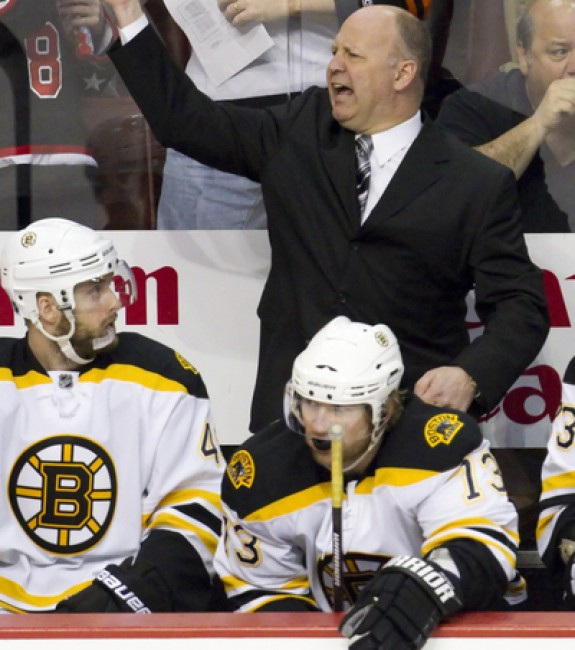 (Icon SMI) Claude Julien is on the hot seat to start this season and if the Boston Bruins struggle out of the gate — as many assume they will — he could be the first coach to receive his walking papers.