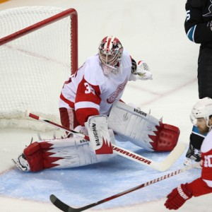 Jimmy Howard of the Detroit Red Wings (Icon SMI)