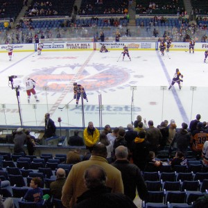 Sparse crowds were a common sight in Nassau Coliseum.